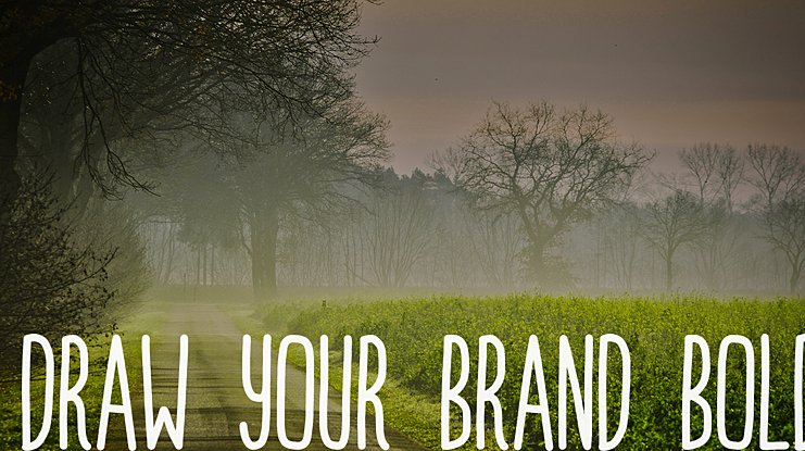 Draw Your Brand Font Family
