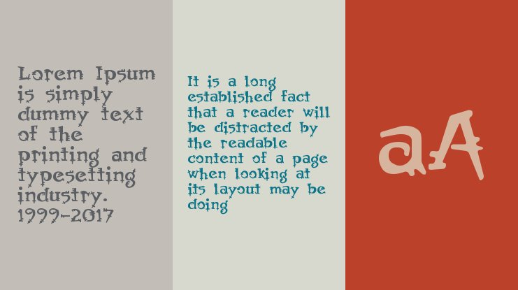 AfterYear font