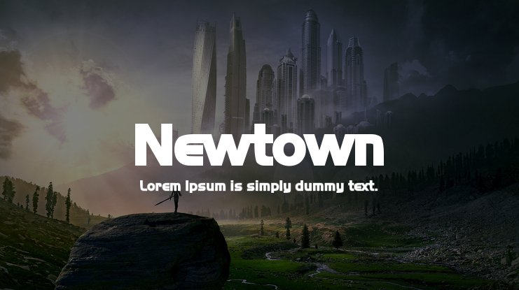 Newtown Font Family