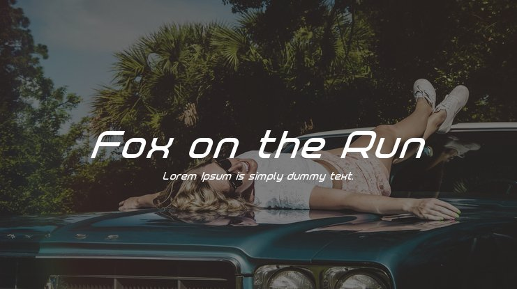 Fox on the Run Font Family