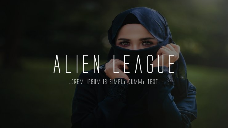 Alien League Font Family