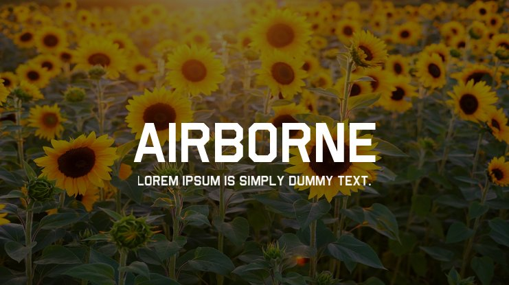Airborne Font Family