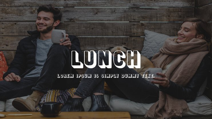 Lunch Font