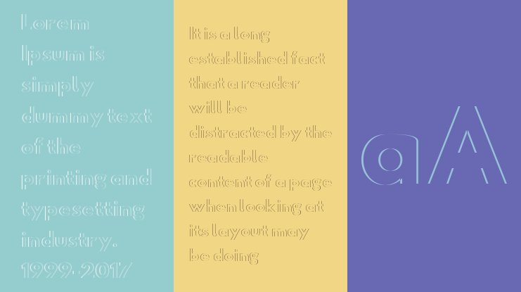 Hussar Plate Font Family