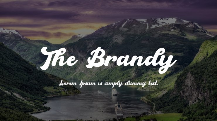 The Brandy Font