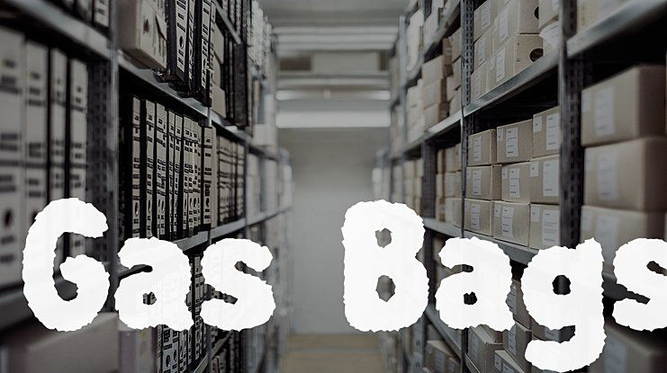 Gas Bags Font