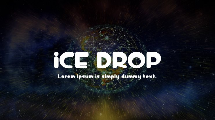 iCE DROP Font Family