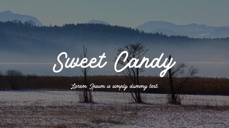 Sweet Candy Font