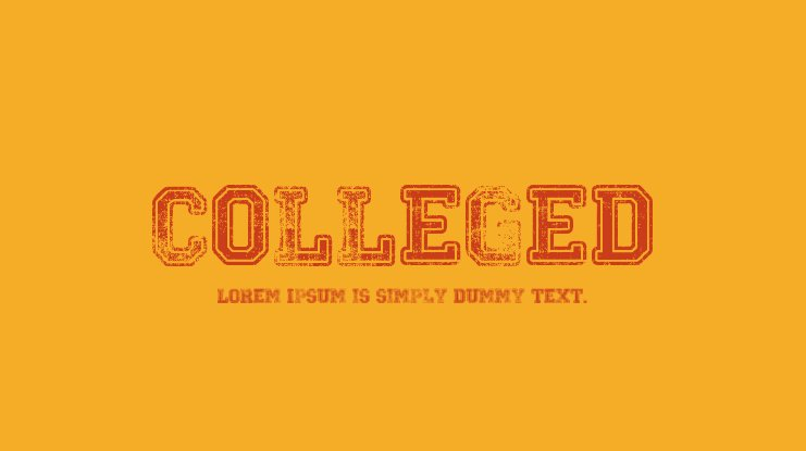Colleged Font