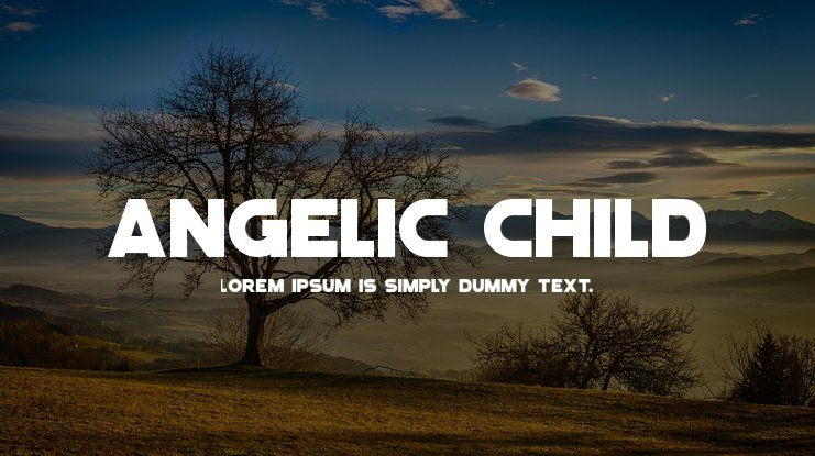 Angelic Child Font Family