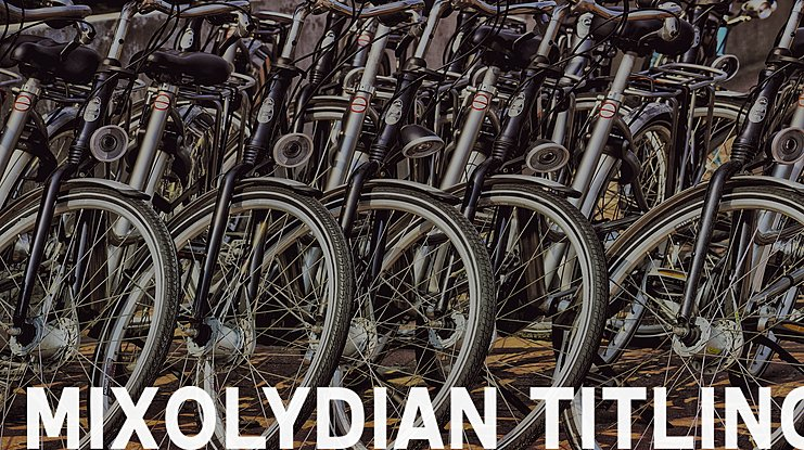 Mixolydian Titling Font Family