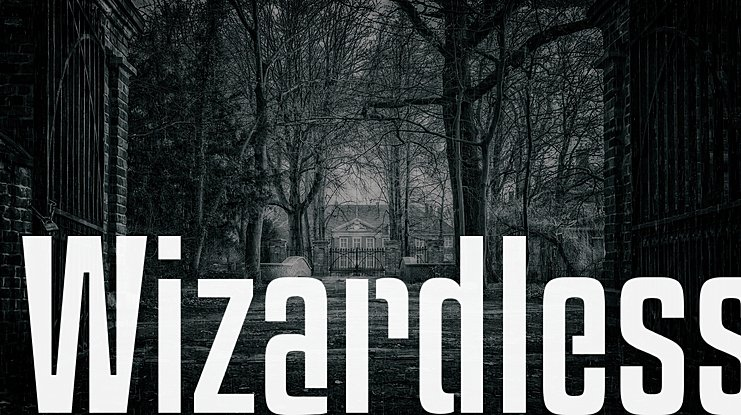 Wizardless Font