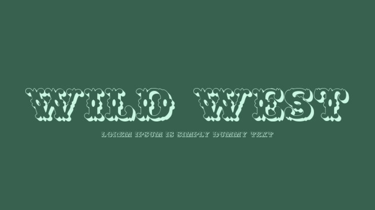 Wild West Font Family