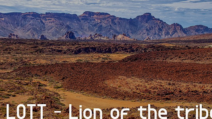 LOTT - Lion of the tribe Font