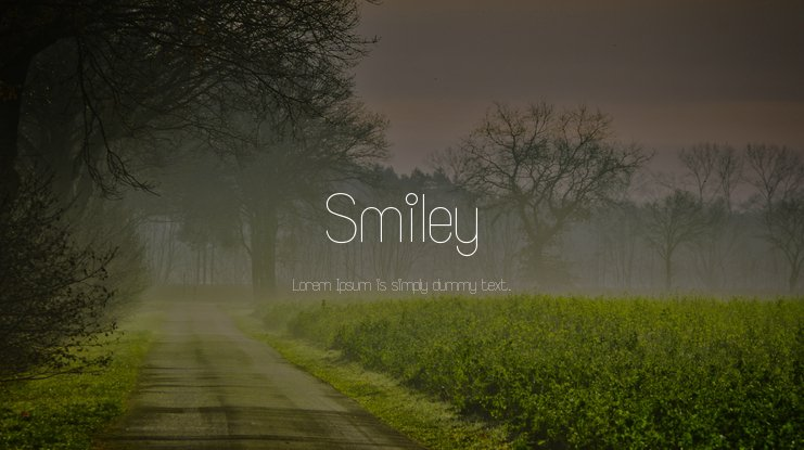 Smiley Font Family