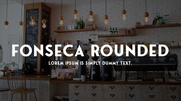 Fonseca Rounded Font