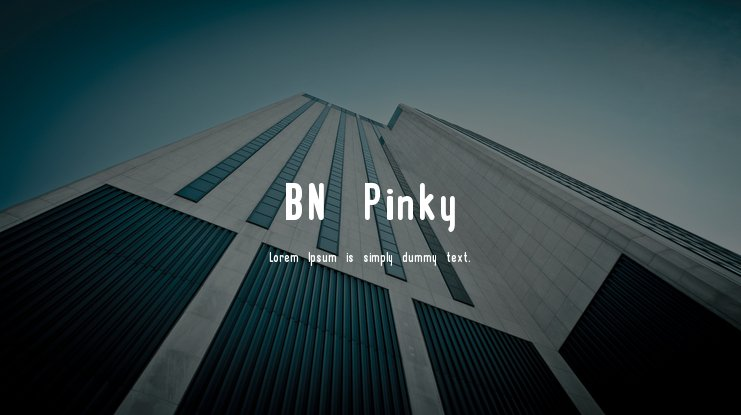 BN Pinky Font Family