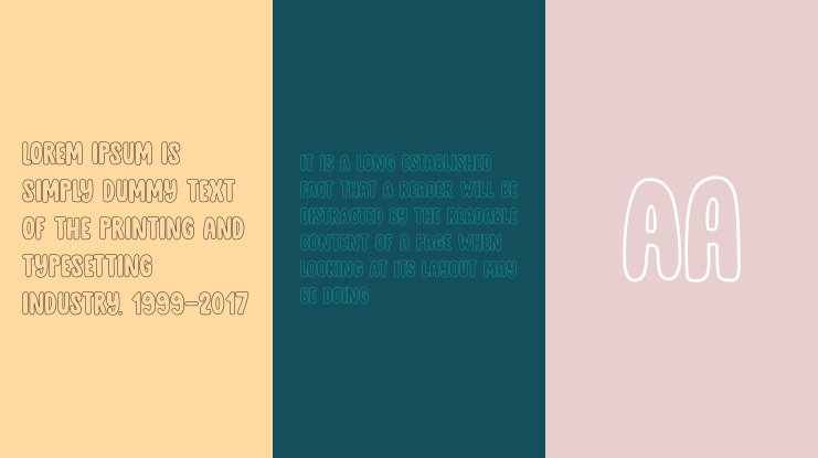 DK Cool Daddy Outline Font