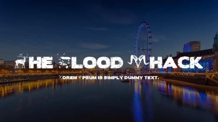 The Blood Shack Font