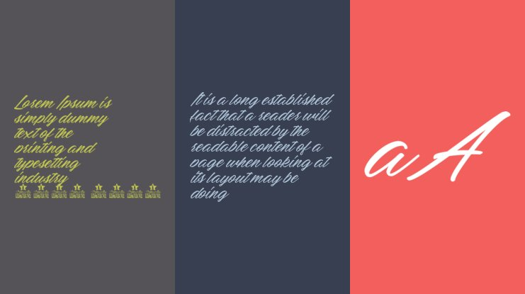 Mellissa Personal Use Font Family