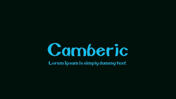 Camberic Font