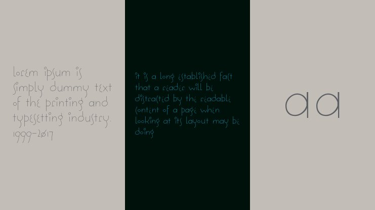 Solea Font Family
