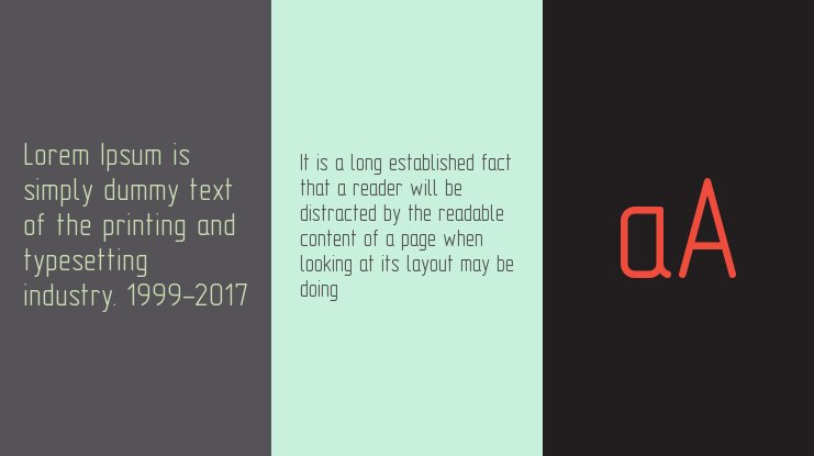 GOST type A Font