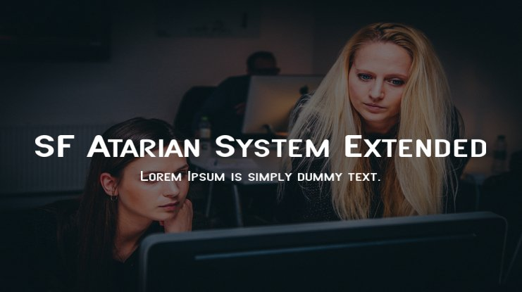 SF Atarian System Extended Font