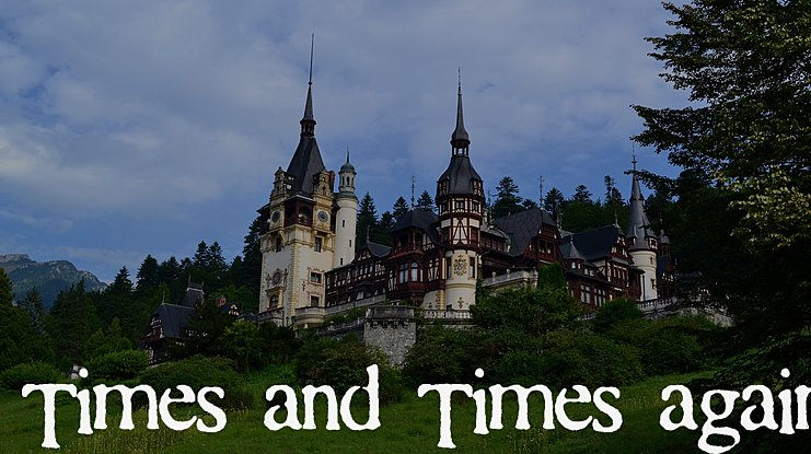 Times and Times again Font