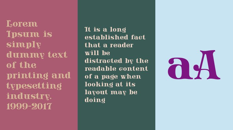 Lissain Didone Font Family
