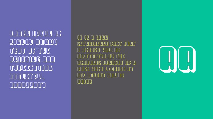 Releases Font Family