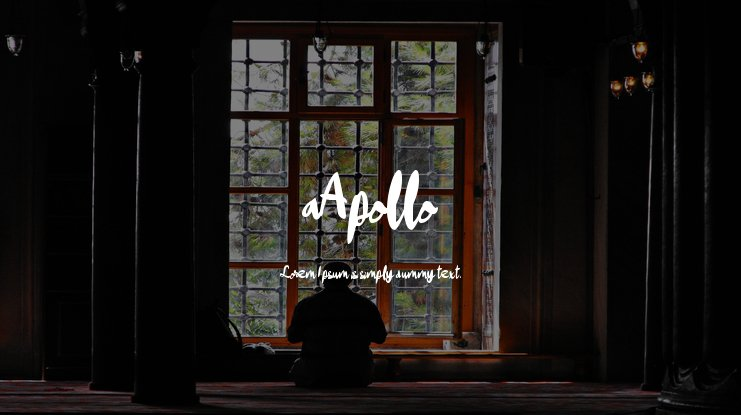 aApollo Font