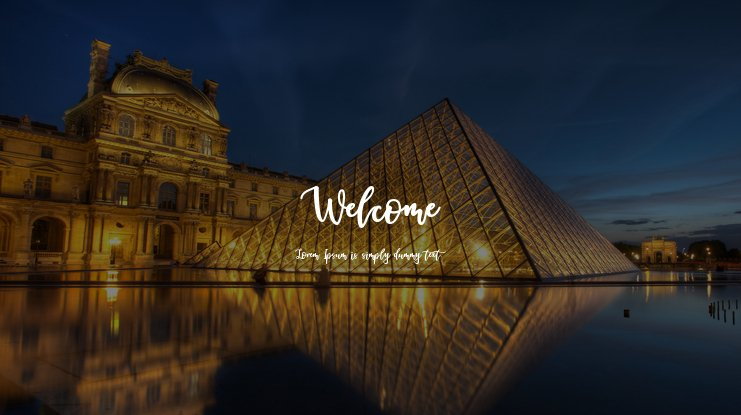 Welcome Font