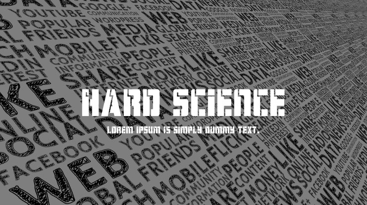 Hard Science Font Family