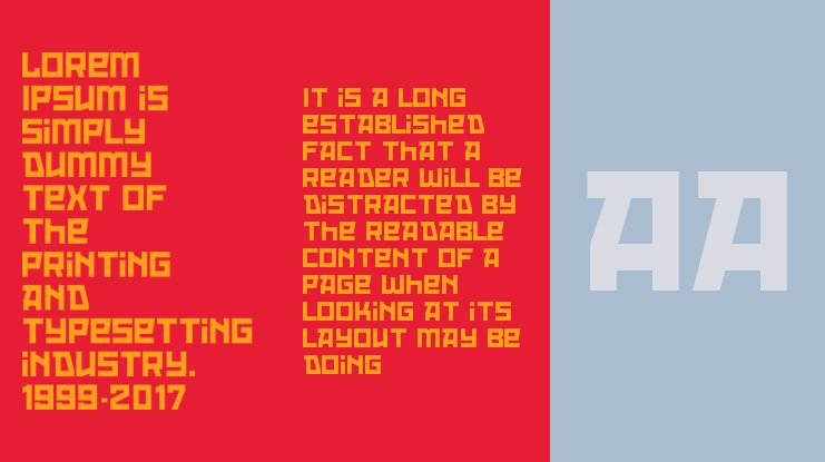 Red October Font Family