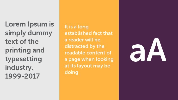 Museo Sans Rounded Font Family