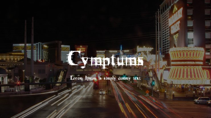 Cymptums Font