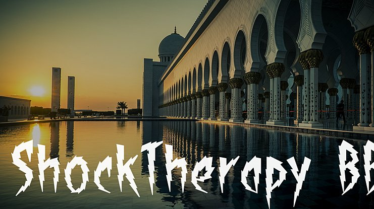 ShockTherapy BB Font Family