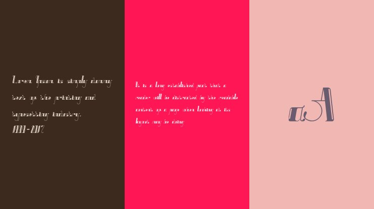 Nine tails inline Font Family