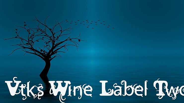 Vtks Wine Label Two Font Family