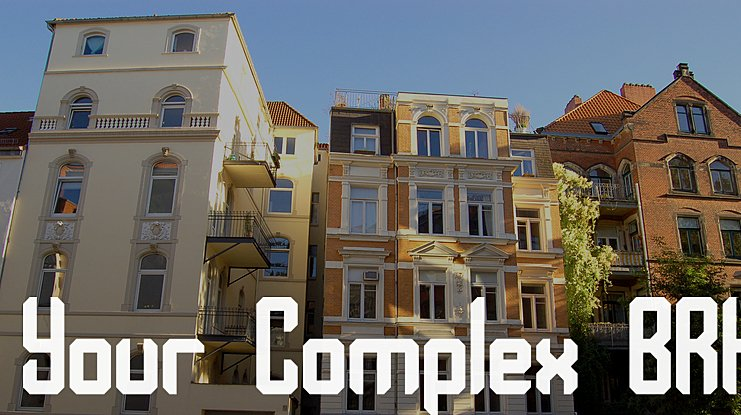 Your Complex BRK Font Family