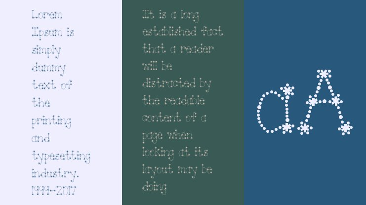Janda Sparkle and Shine Font Family