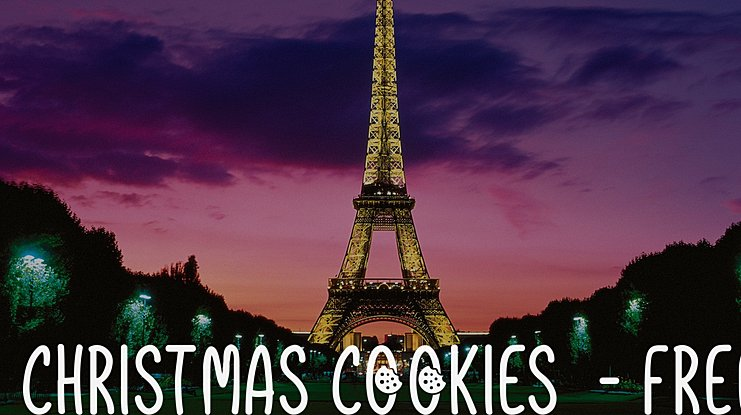 Christmas Cookies  - Free Font