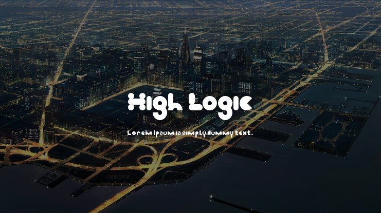 High Logic Font Family