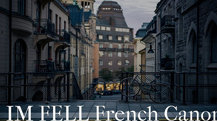 IM FELL French Canon Font Family
