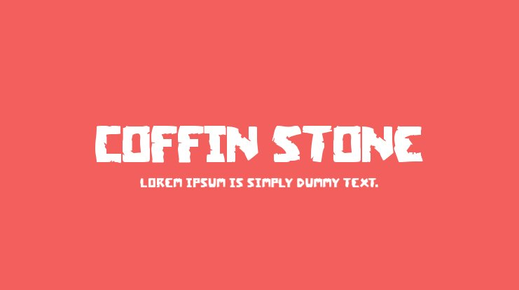 Coffin Stone Font Family