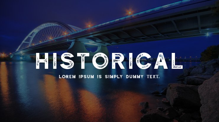 Historical Font Family