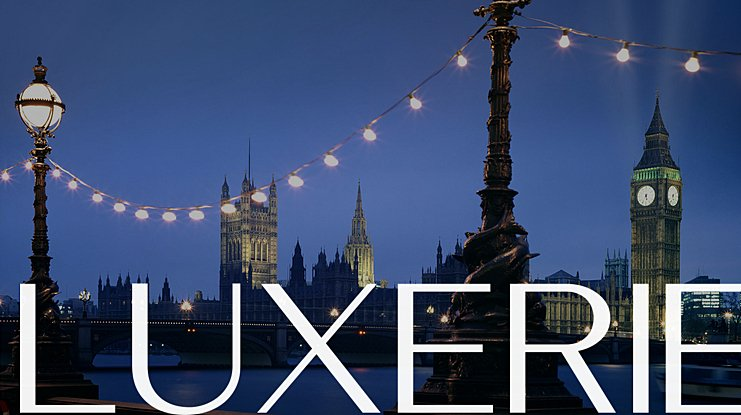 Luxerie Font Family