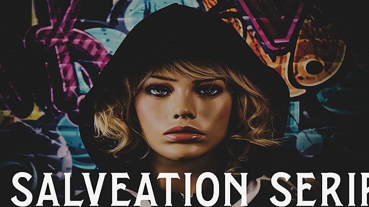 Salveation Serif Font