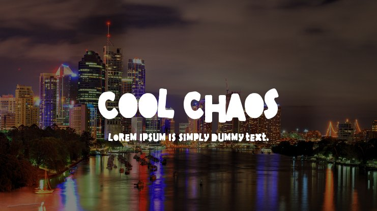 Cool Chaos Font